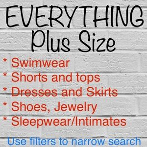 Plus size one stop shopping!